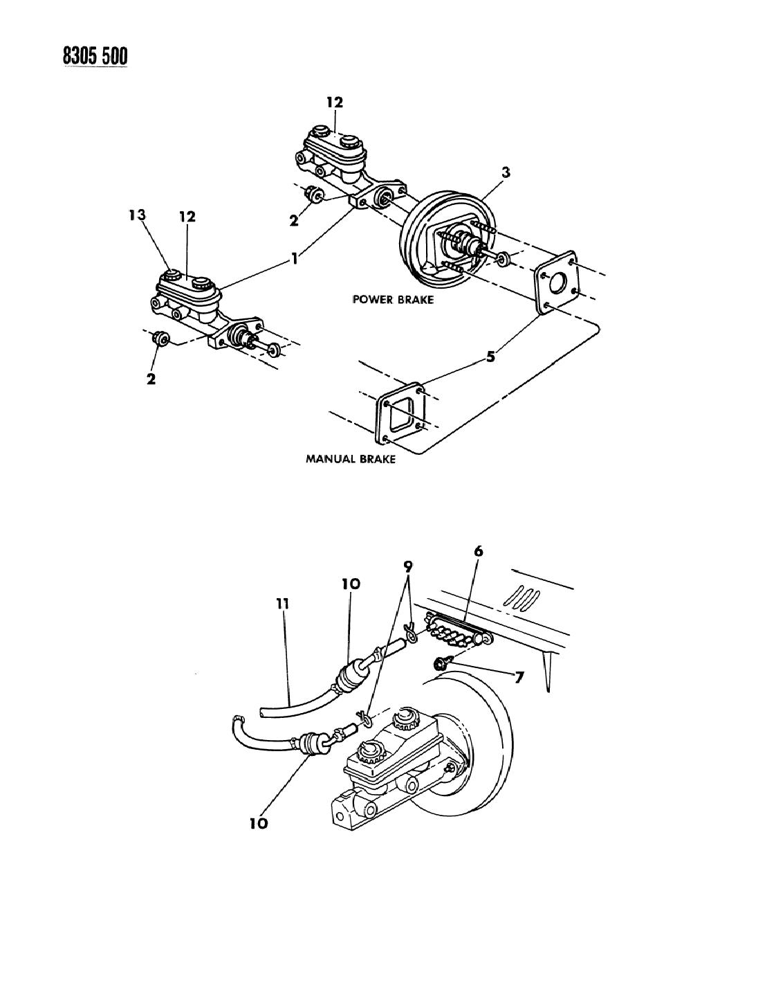 1989 dodge dakota service manual