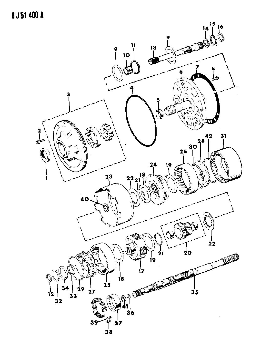 4l60e Front Pump Diagram