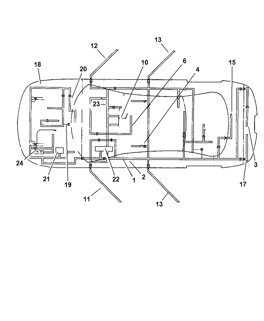 wiring diagram for 2004 dodge intrepid 4760131ah genuine mopar wiring deck lid  4760131ah genuine mopar wiring deck lid