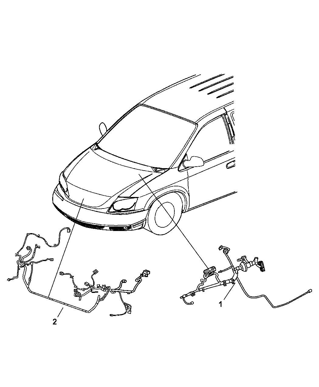 2007 Chrysler Pacifica Wiring Headlamp To Dash