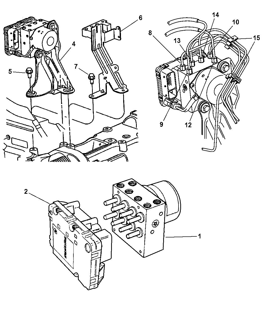 Genuine Chrysler CONTROL-ANTI-LOCK BRAKES
