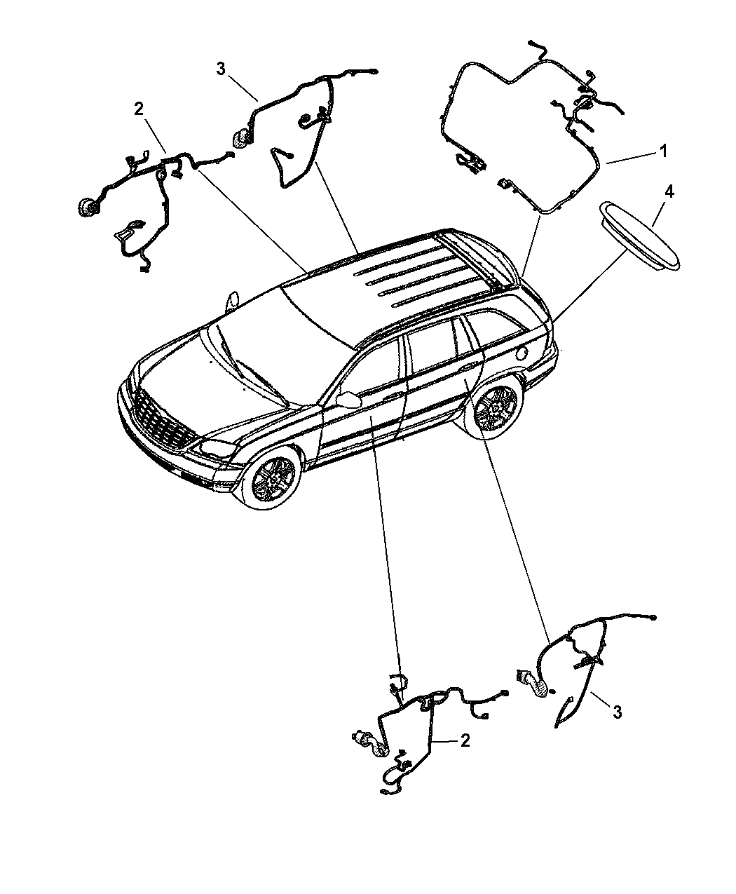 2005 Chrysler Pacifica Wiring