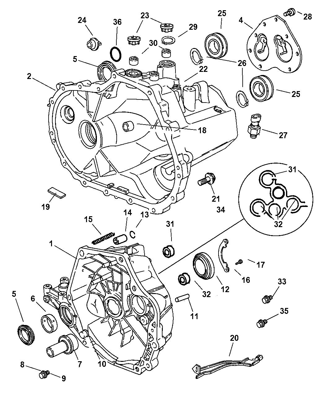 [WRG-8282] Pt Cruiser 2 4l Engine Parts Diagram