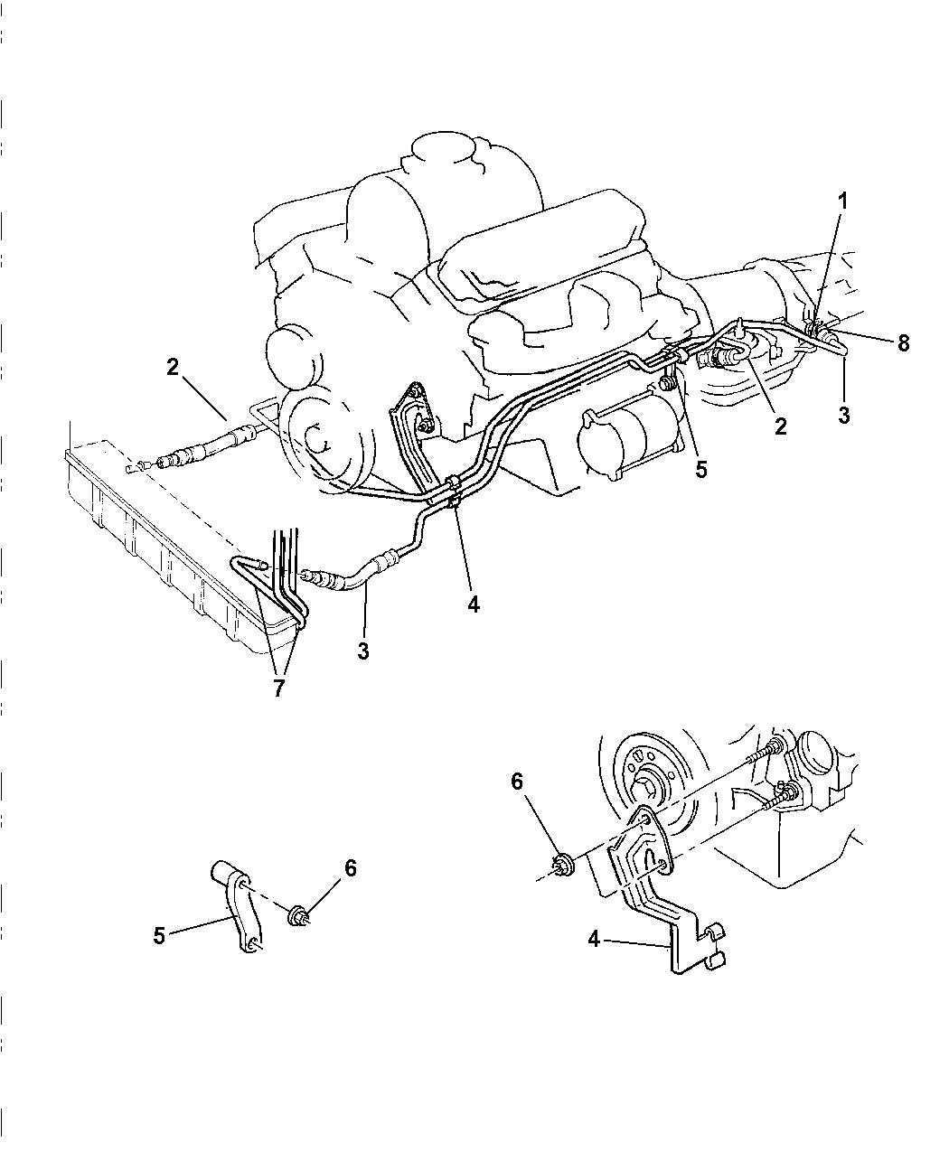 2001 dodge dakota transmission schematic