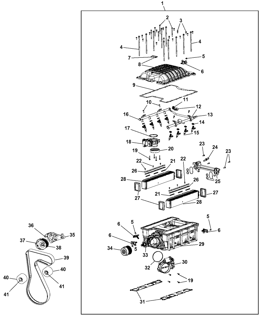 Genuine Mopar RAIL-FUEL