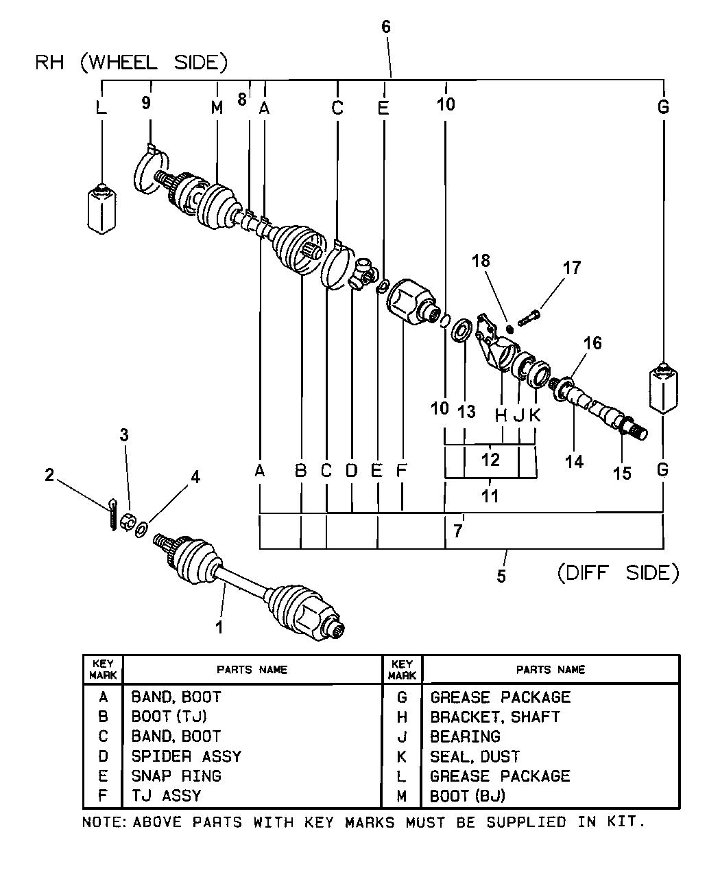Drive Shaft Diagram