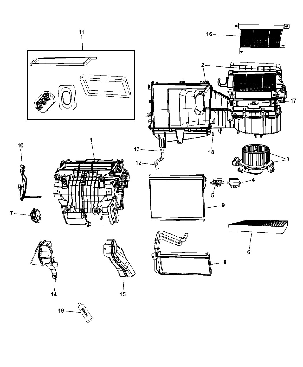 Chrysler 200 Power Seat Wiring Diagram