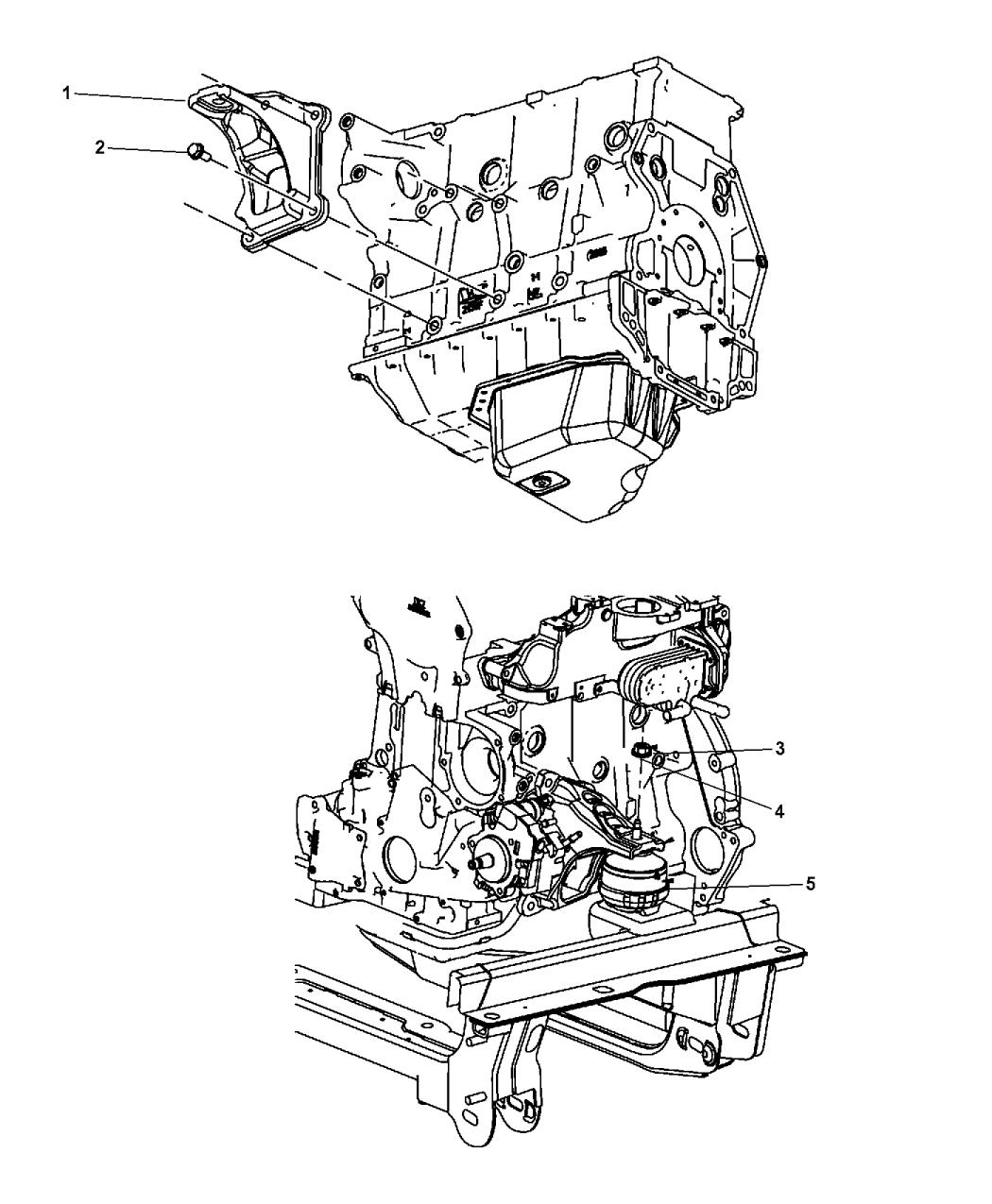 2008 Dodge Nitro Engine Mounting - Thumbnail 4