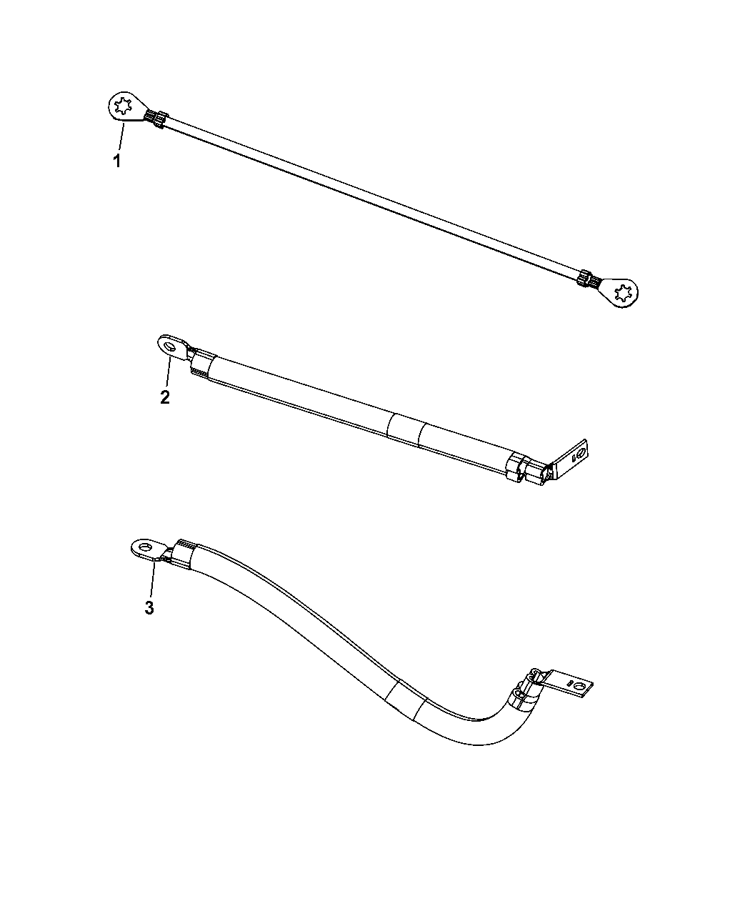 2014 Dodge Durango Ground Straps And Wiring Mopar Parts Giant Fuse Diagram