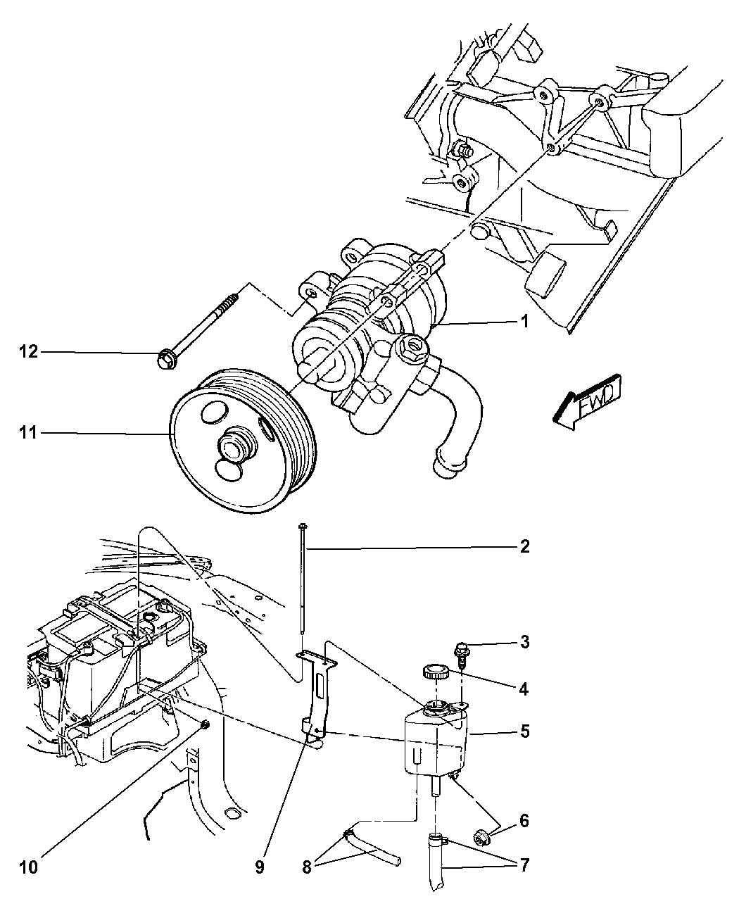 Resource T D Amp S L Amp R Ab C Ee C E Ae Ce Ba Dd E Ad A on 2002 Dodge Dakota Power Steering Parts Diagram