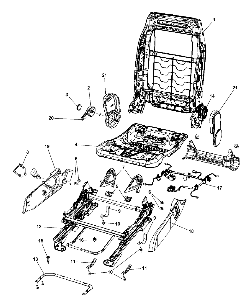 jeep patriot interior parts diagram  u2022 wiring diagram for free