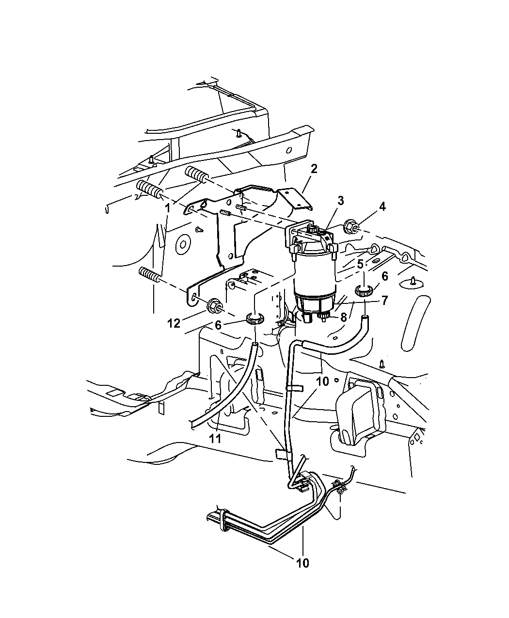 [WRG-7488] 03 Jeep Liberty Fuel Filter