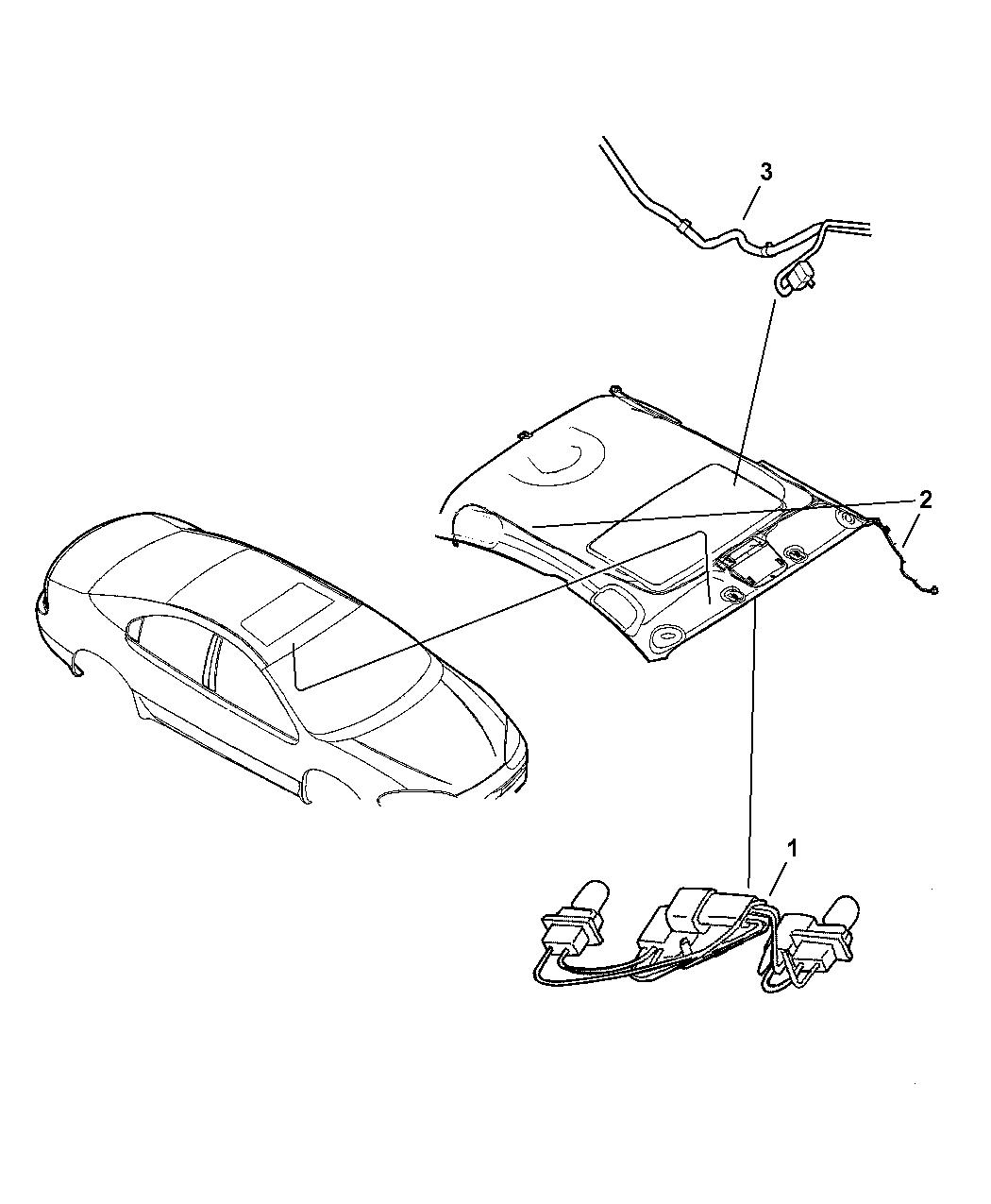 2002 Chrysler Concorde Wiring Roof Mopar Parts Giant Diagram