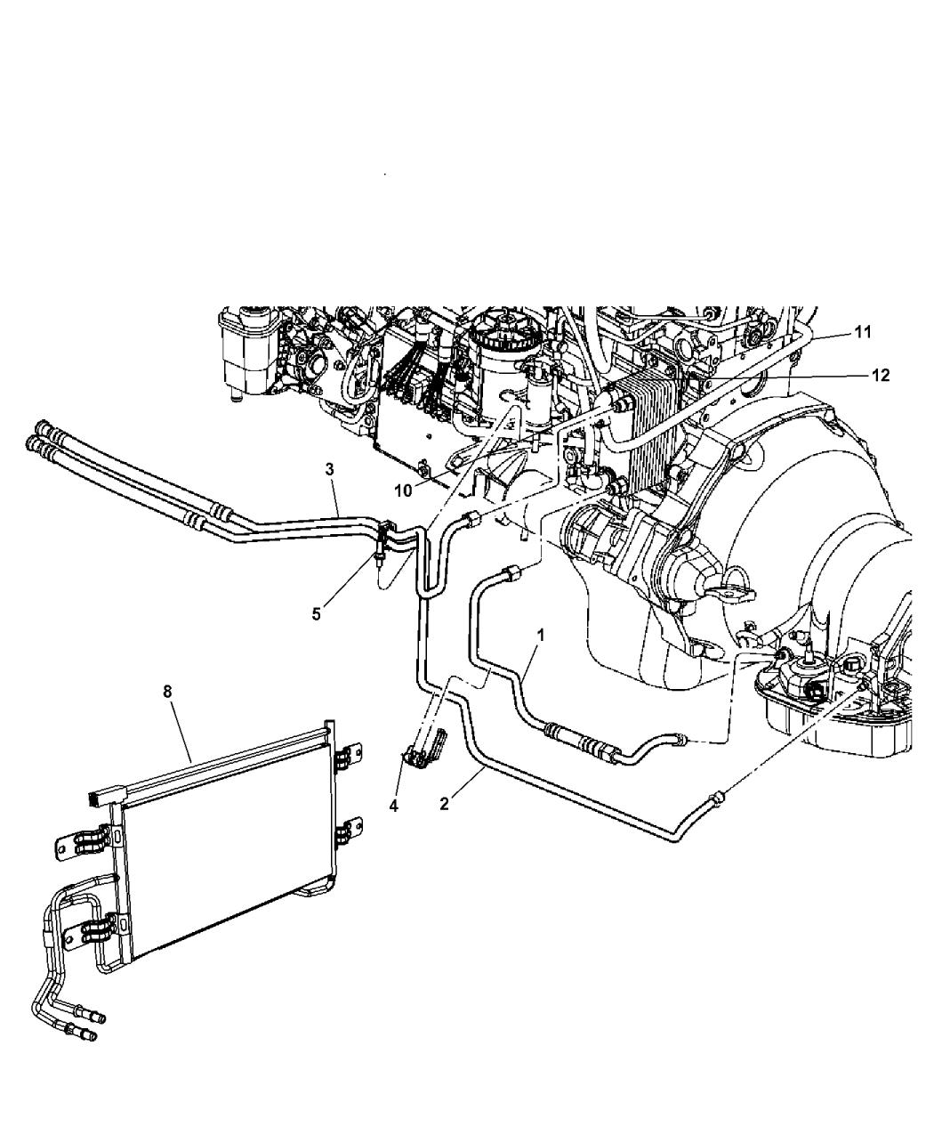 2005 cummins transmission cooler