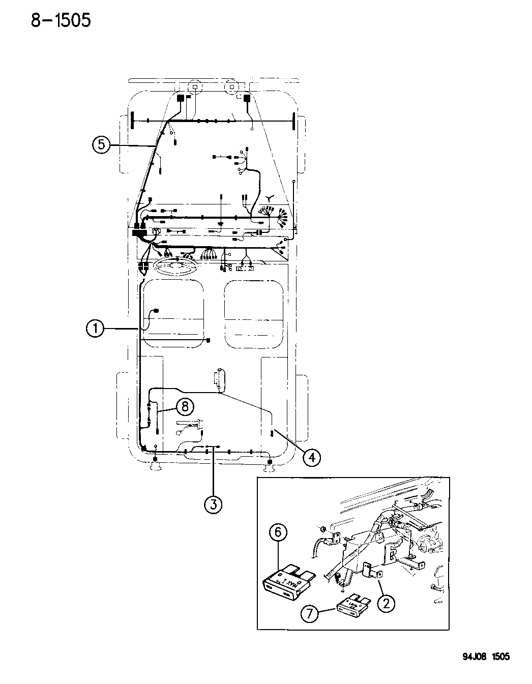 1995 Jeep Wrangler Wiring