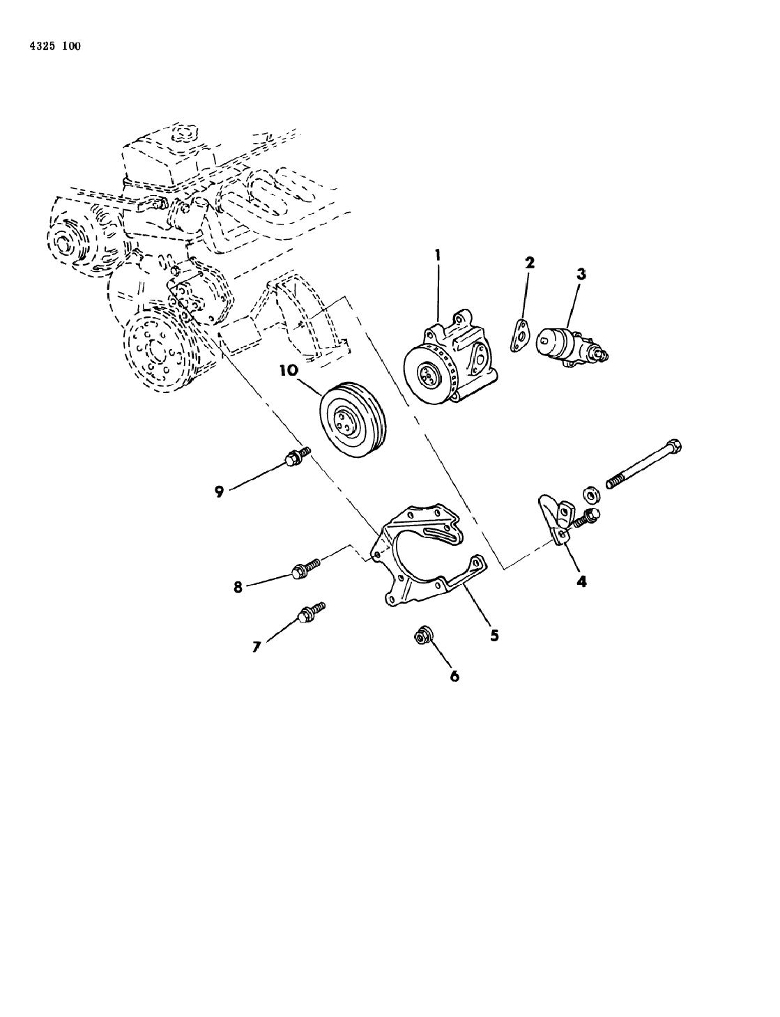 1985 Dodge Ram Van Air Pump Mopar Parts Giant Vanair Wiring Diagram Thumbnail 2