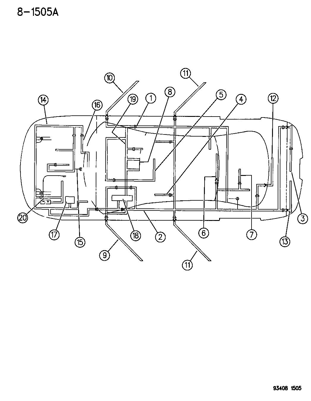 1996 dodge intrepid wiring