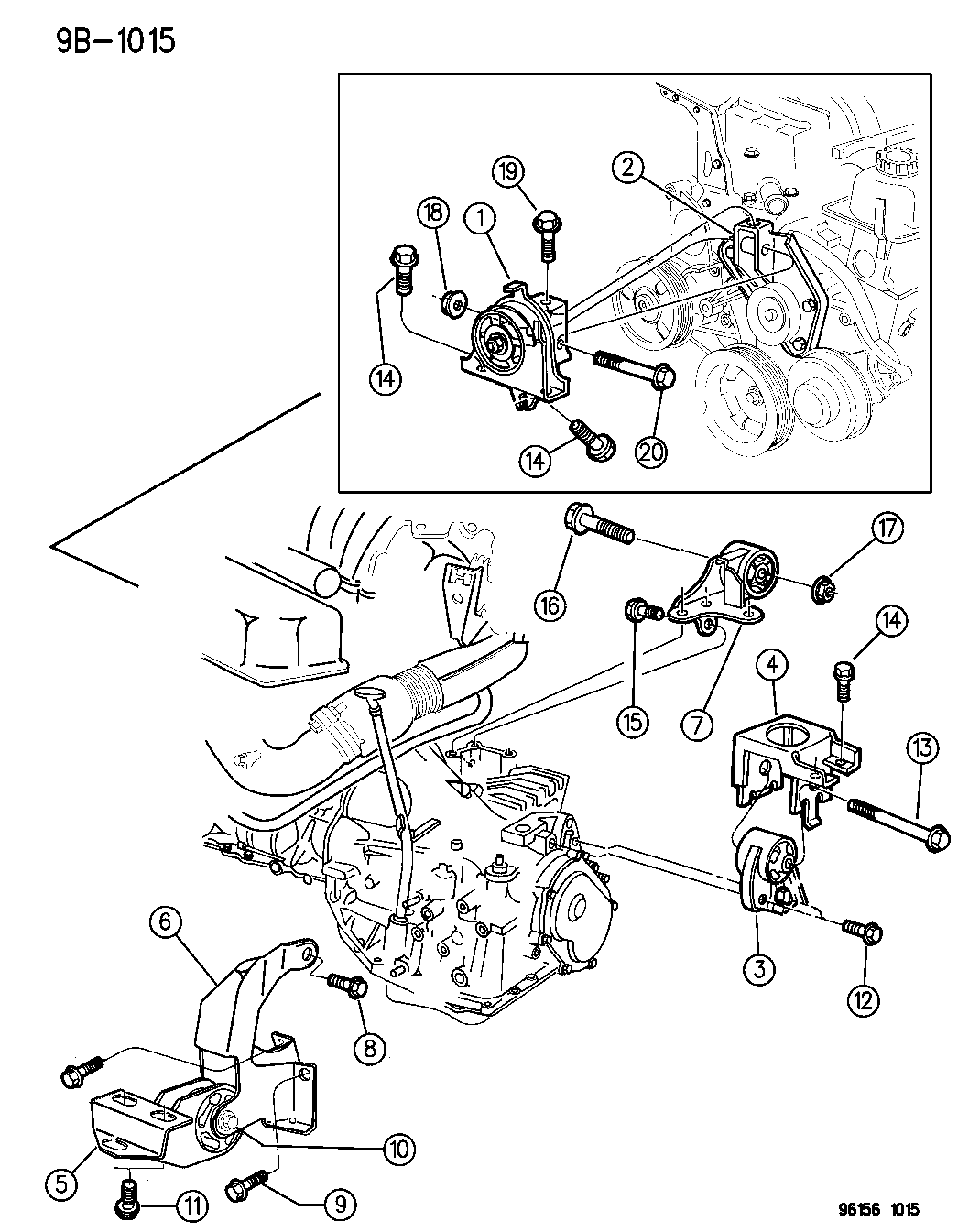 1996 Dodge Caravan Engine Diagram