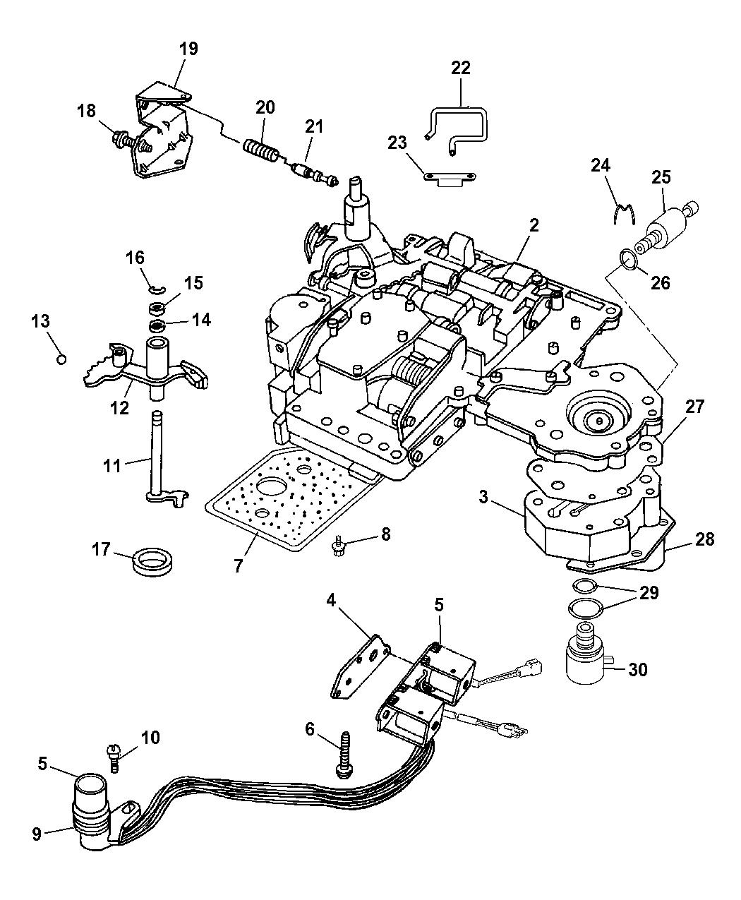 97 dodge 3500 automatic transmission