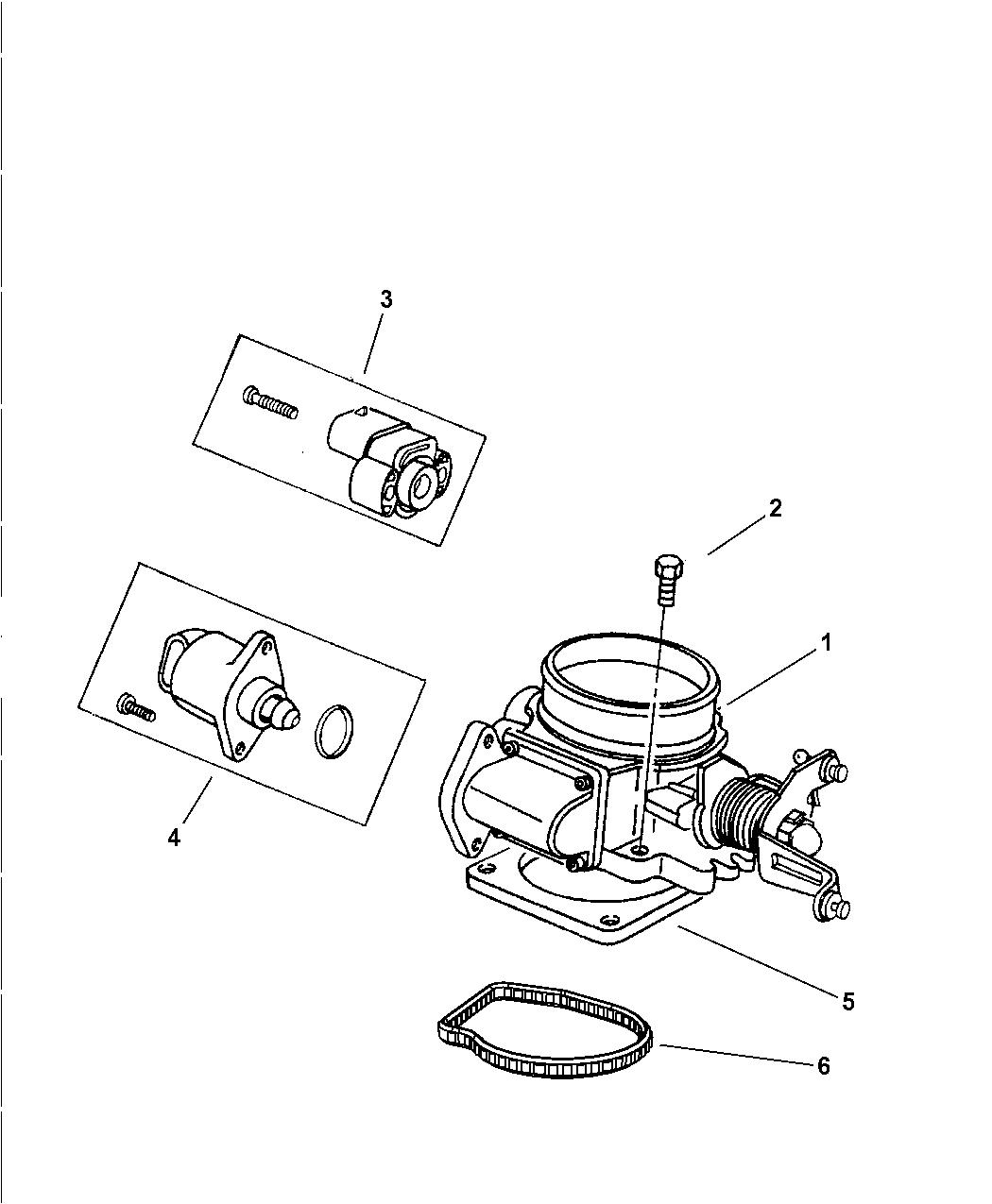 2003 jeep wrangler throttle body