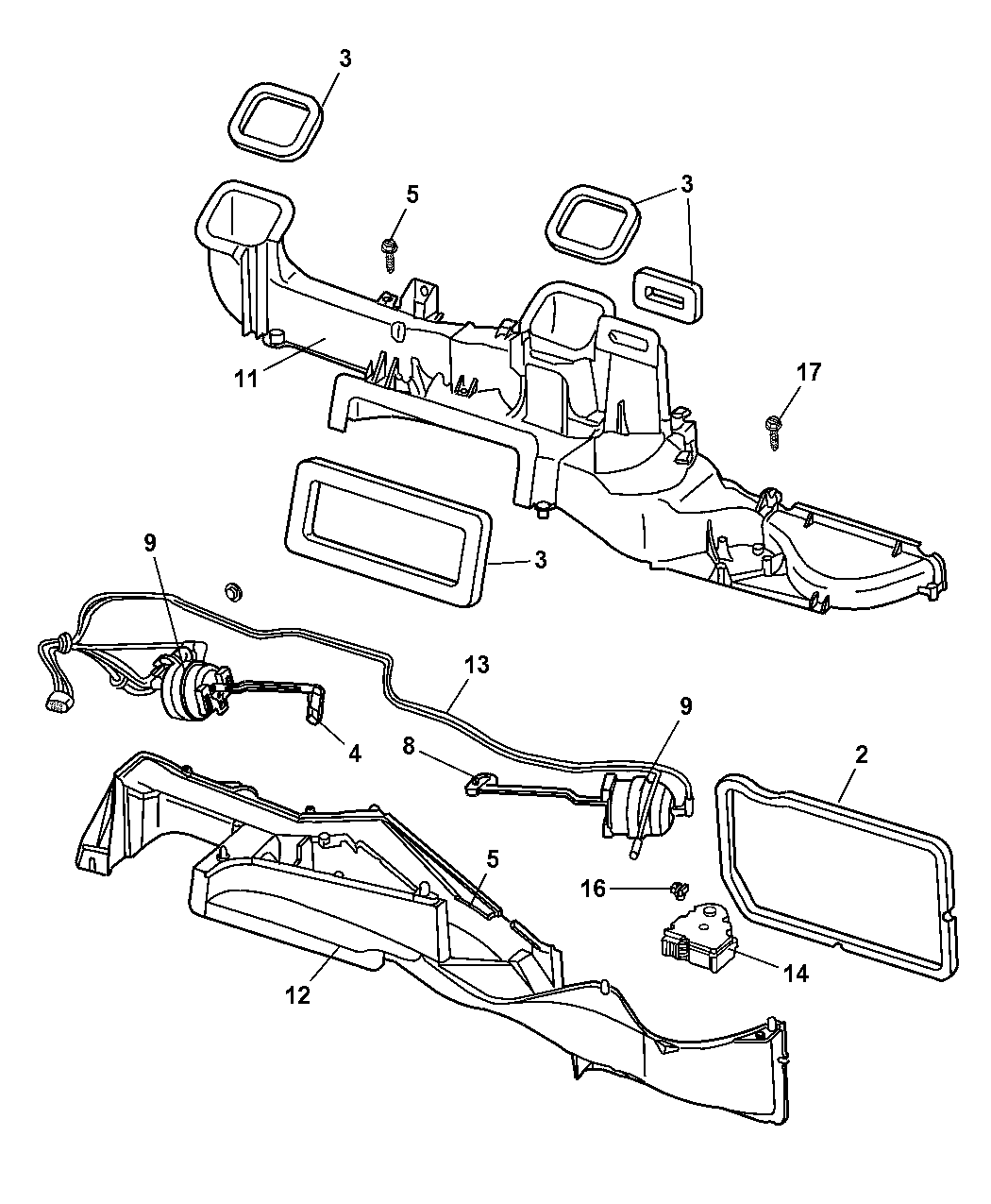 Dodge ram air conditioning diagram