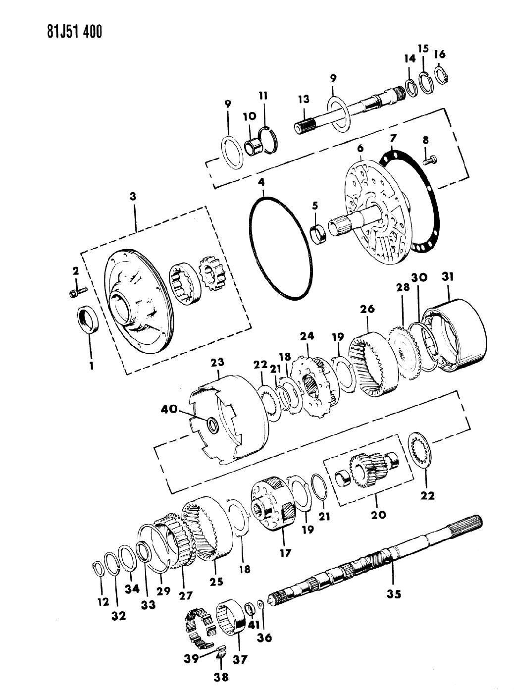 1984 Jeep Wrangler Oil Pump Gear Train Mopar Parts Giant 4 0l Engine Bellhousing Diagram