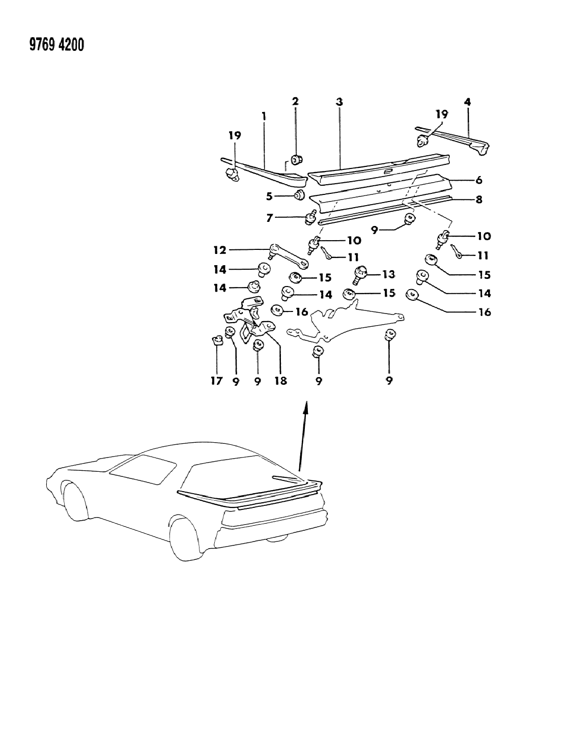 Chrysler Conquest Wiring Diagram - Wiring Diagram