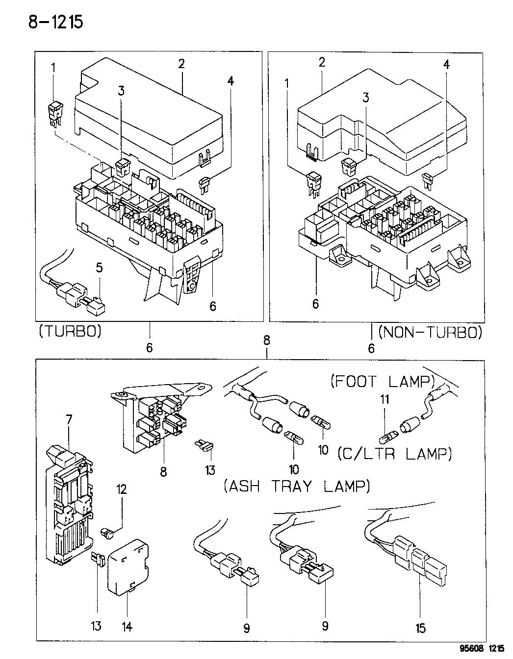1996 Dodge Avenger Engine Diagram