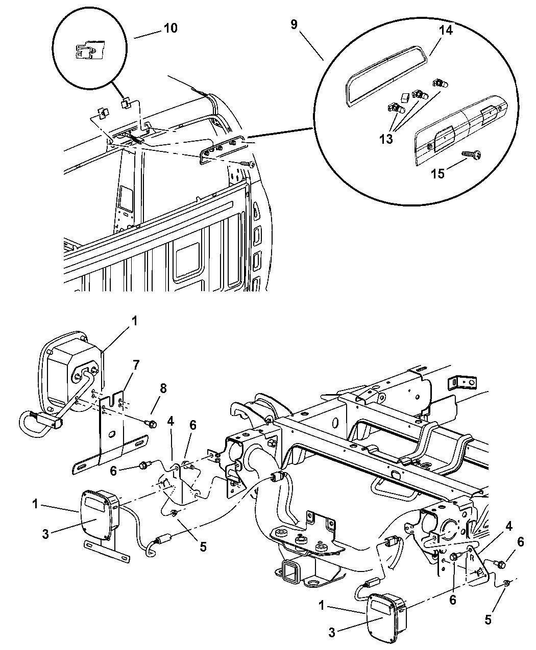 Genuine Mopar PLUG-CHMSL