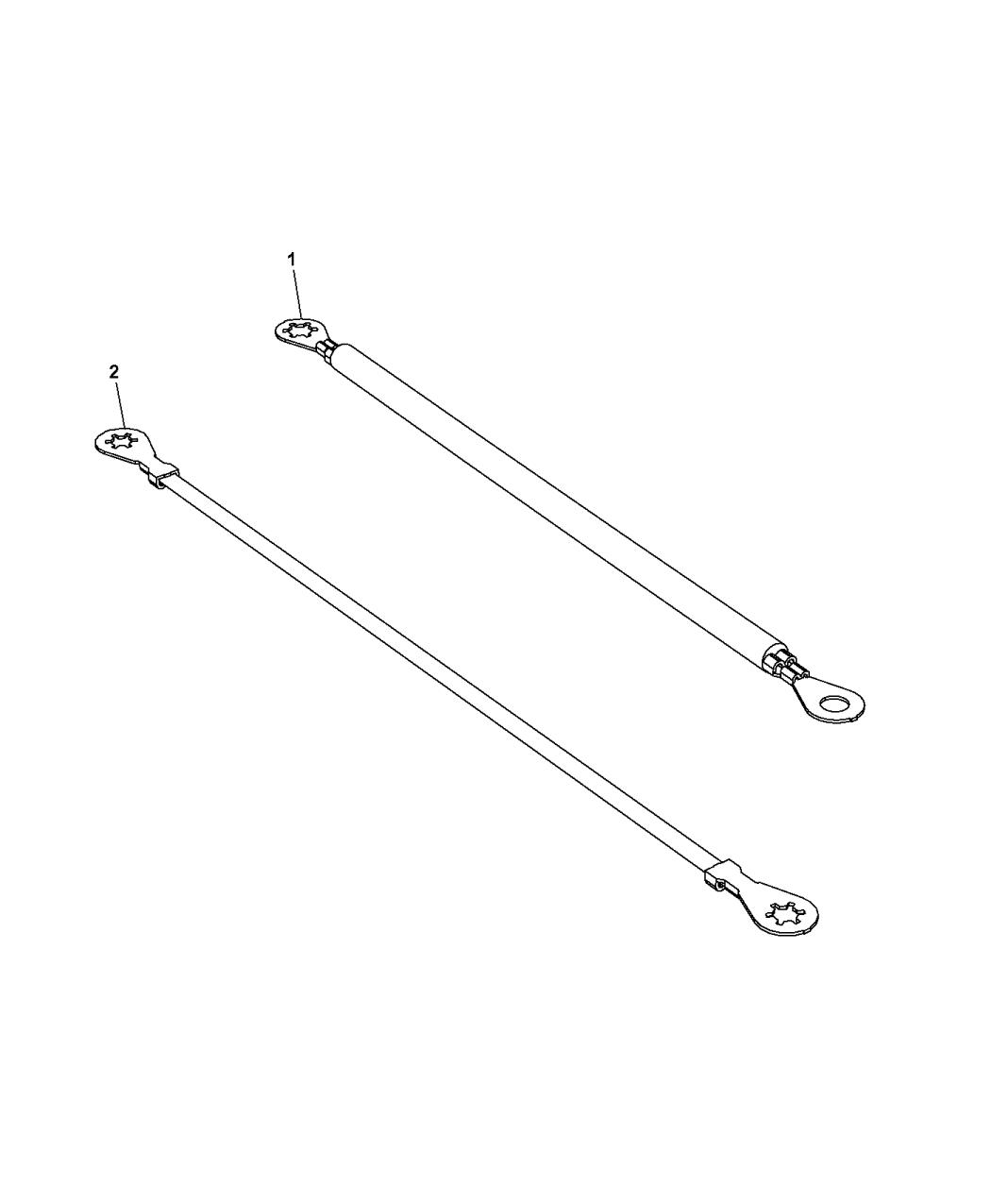 2015 Dodge Dart Ground Straps - Powertrain