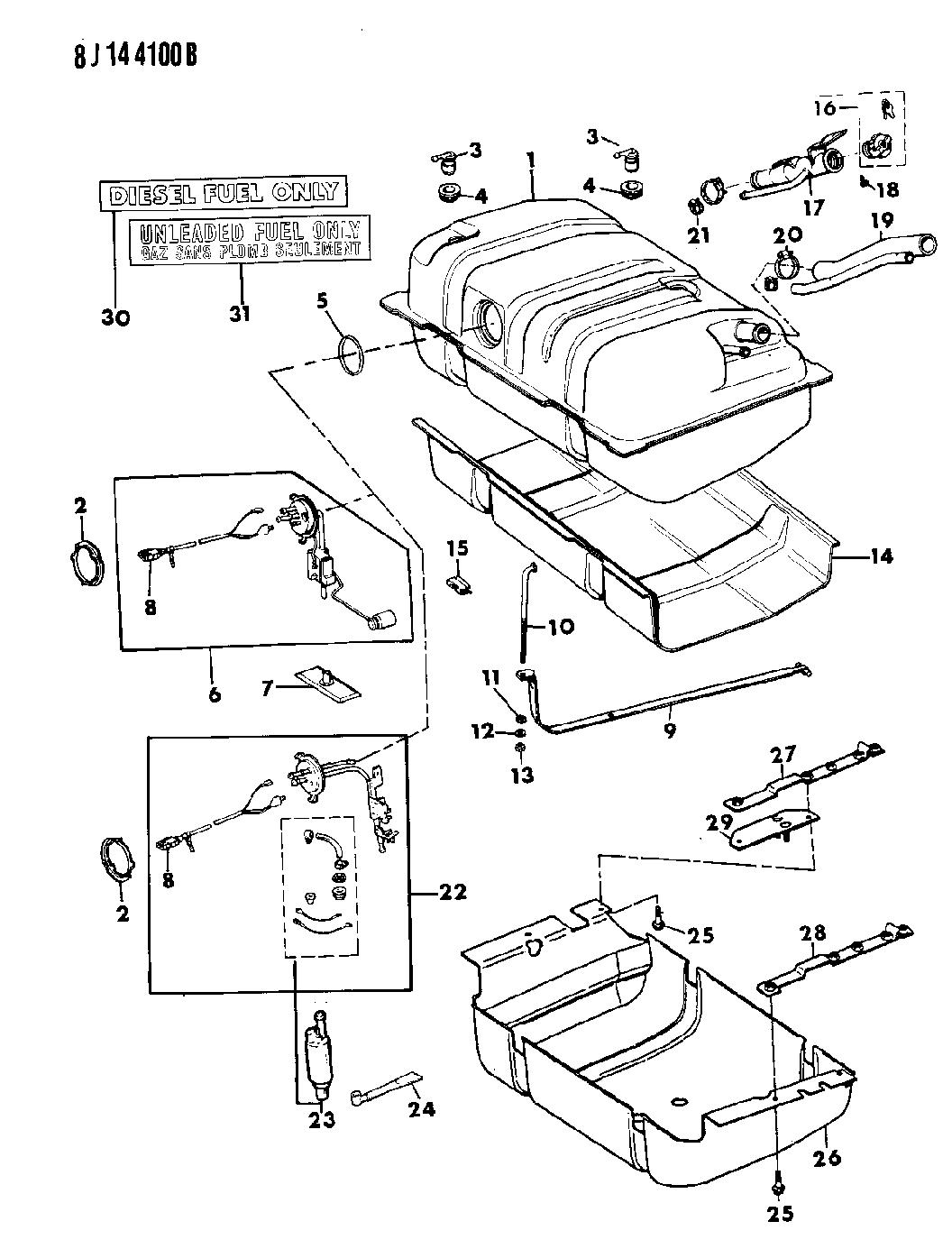 53000575 Genuine Jeep O Ring Sending Unit