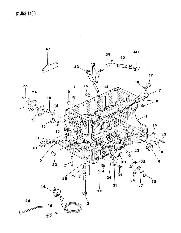 1986 Jeep Wrangler Block Engine Mopar Parts Giant Yj Diagram Thumbnail 2