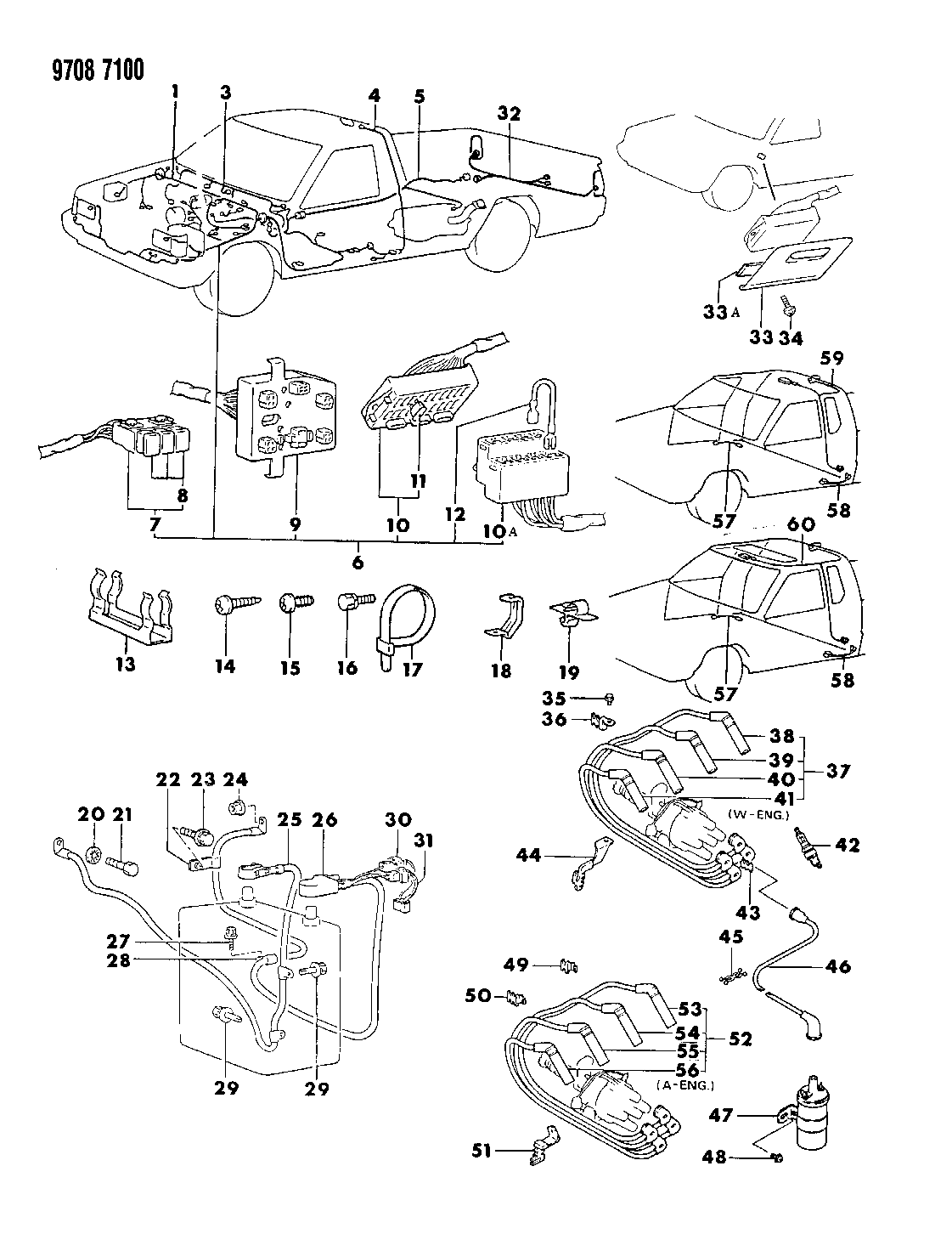 1989 Dodge Ram 50 Wiring Diagram Library Diagrams Harness