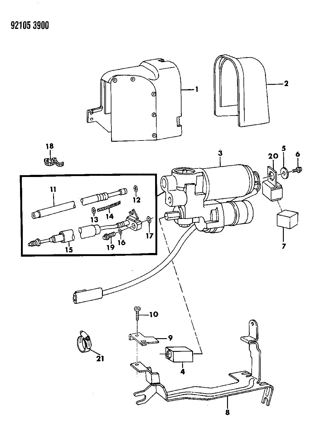 chrysler fifth avenue parts diagram