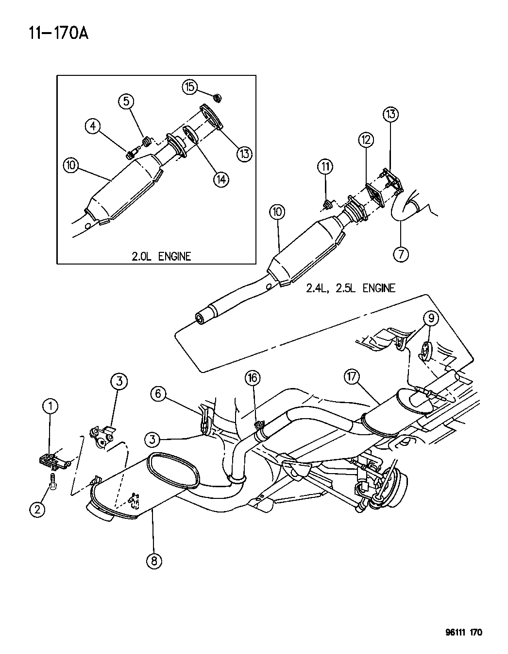1996 dodge 2 0 engine diagram