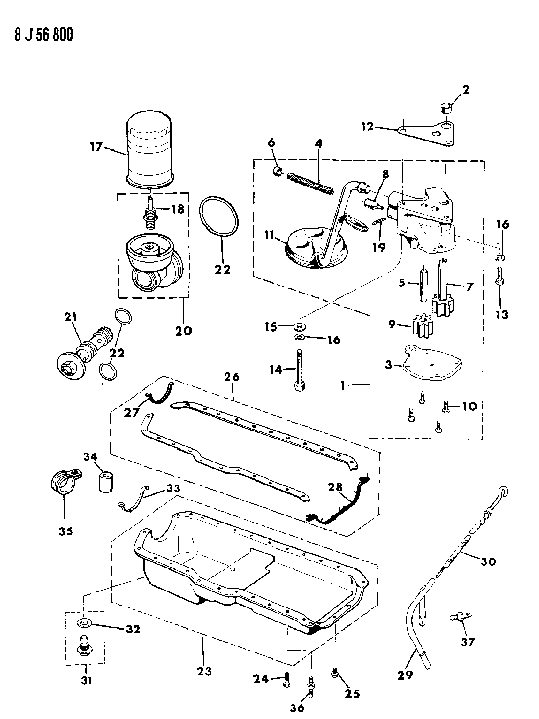 Jeep Cherokee Engine Parts Diagram