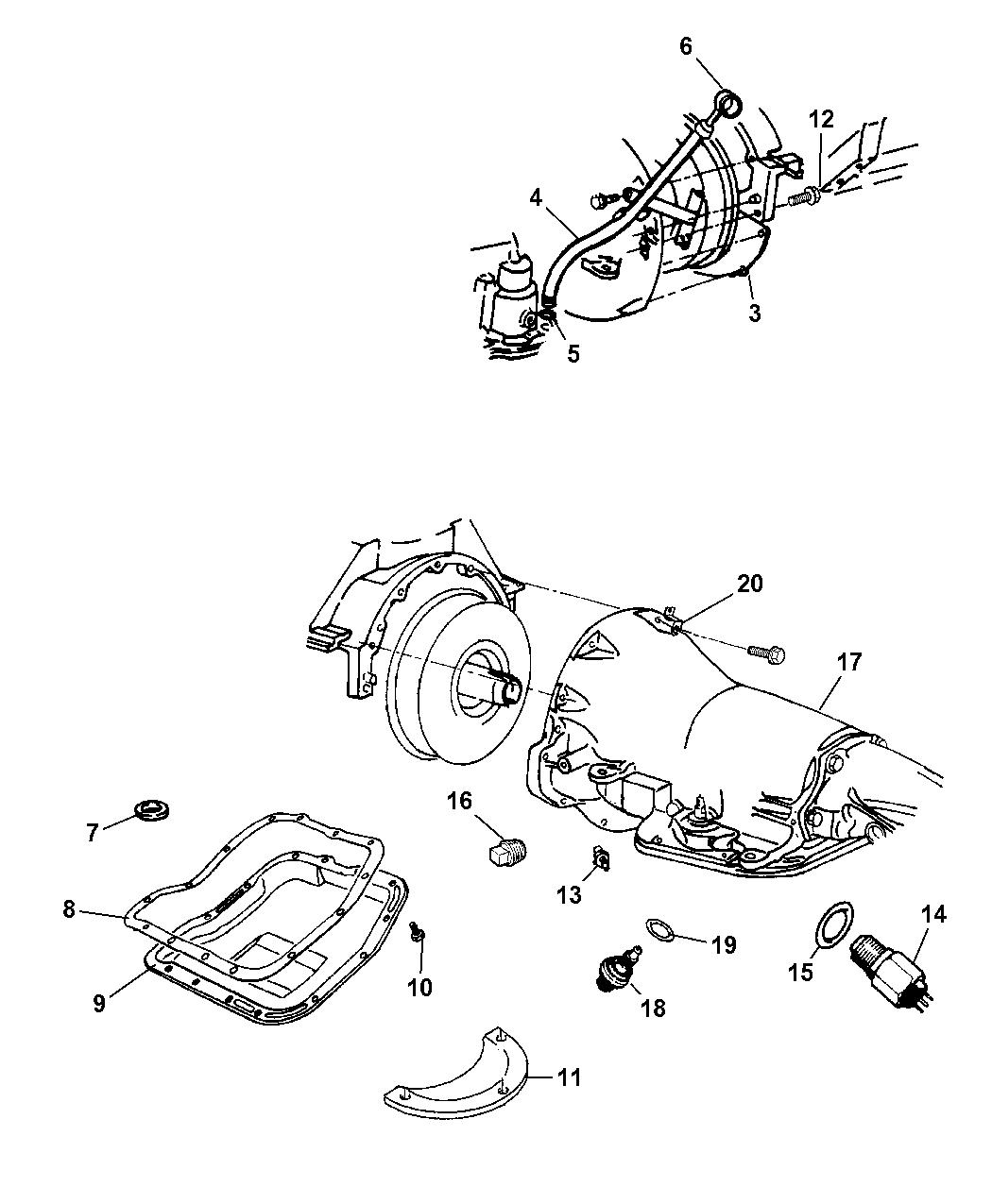 2005 Dodge Ram 1500 Case Related Parts Mopar Giant 48re Transmission Wiring Diagram Thumbnail 2