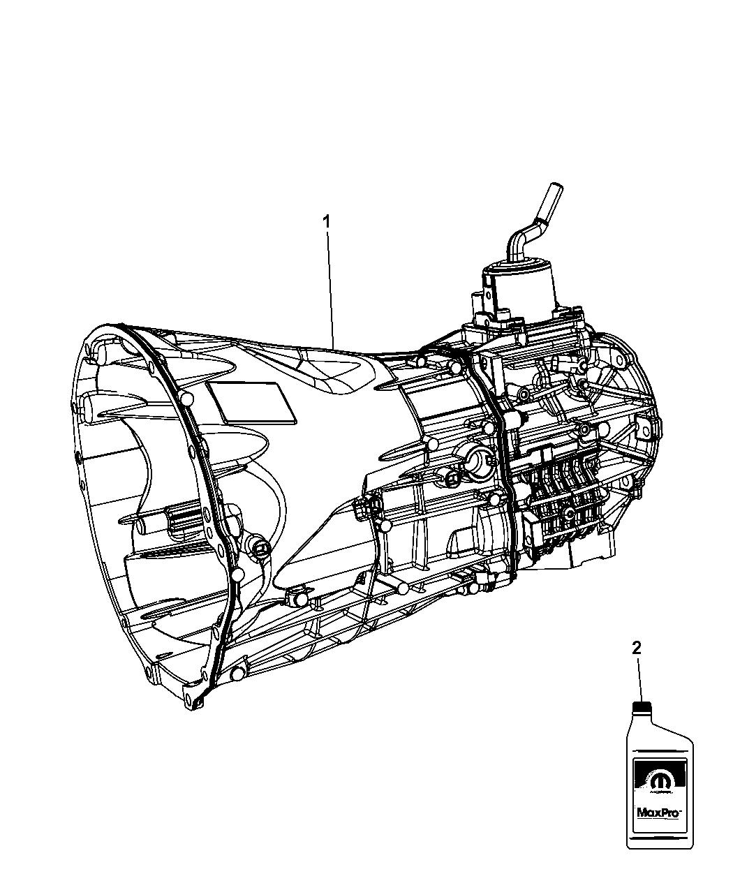 2010 jeep wrangler transmission / transaxle assembly