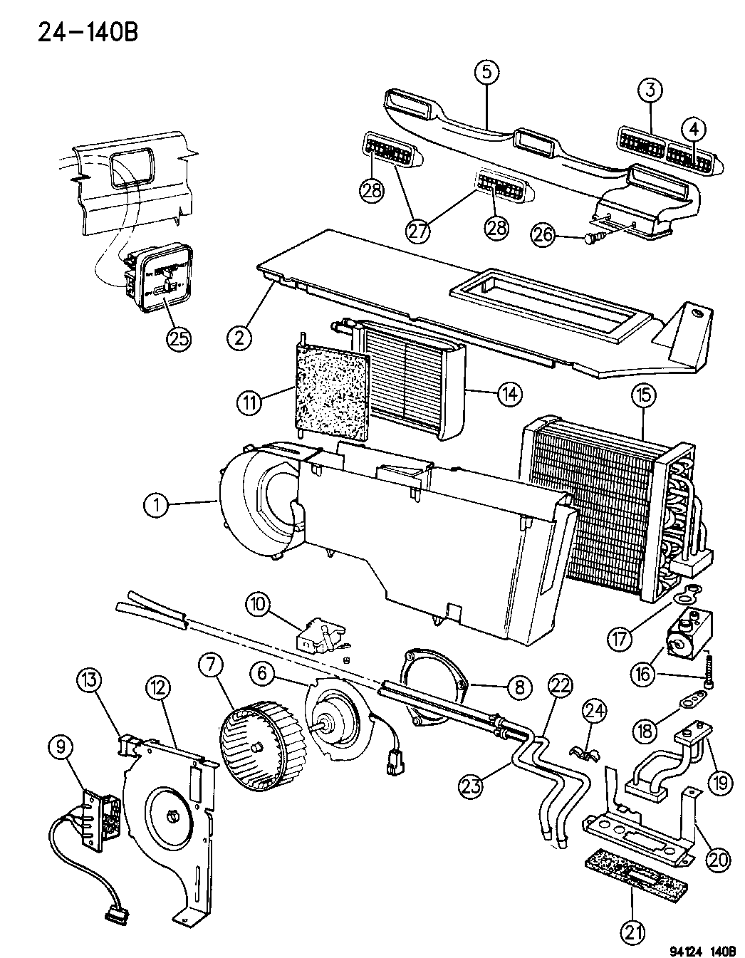 dodge grand caravan 3 3l engine parts diagram