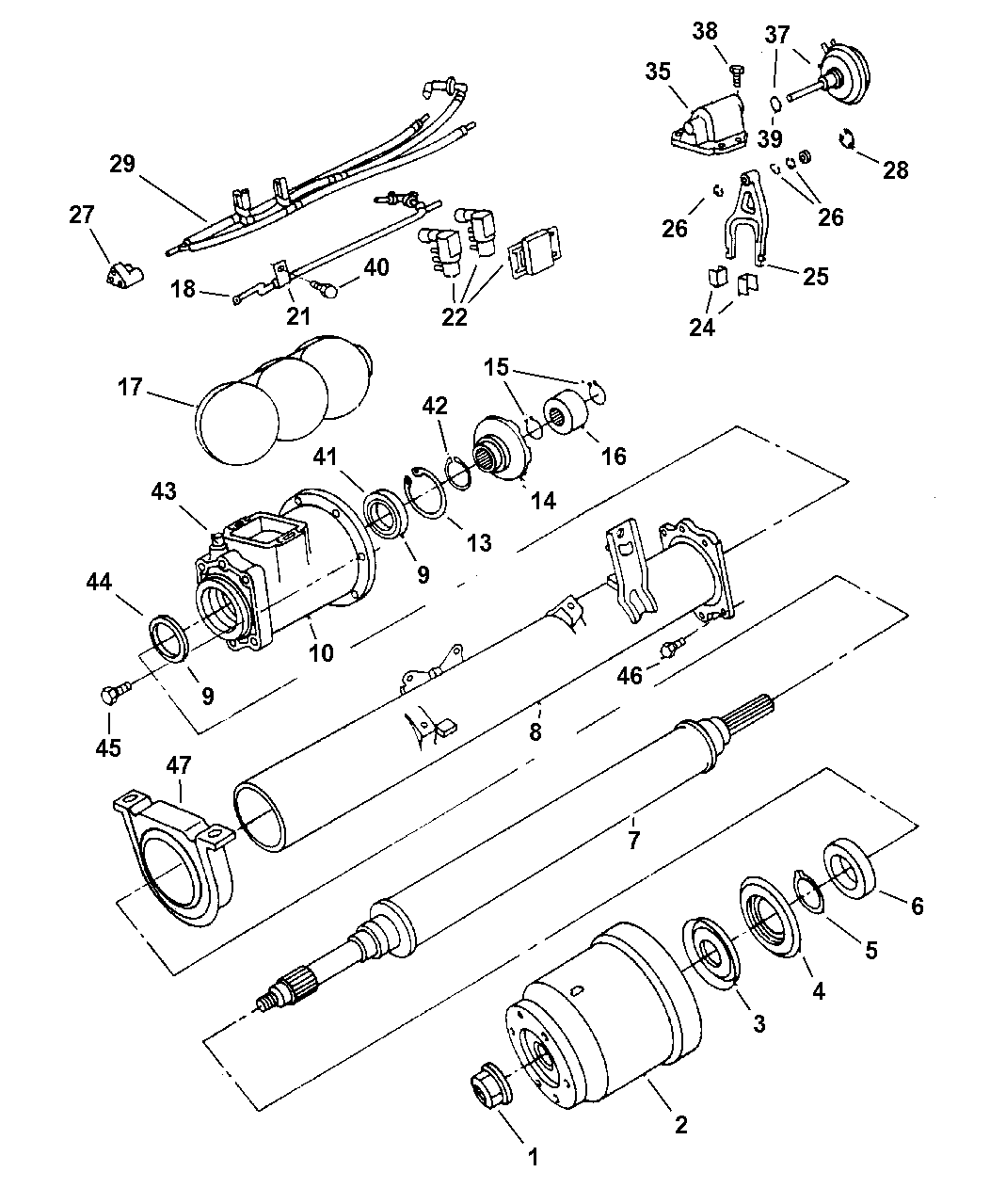 2000 Chrysler Town And Country Parts Diagram