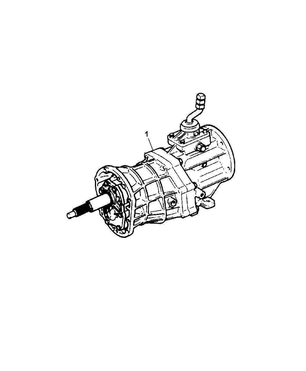 52108118AB - Genuine Mopar TRANS-5 SPEED