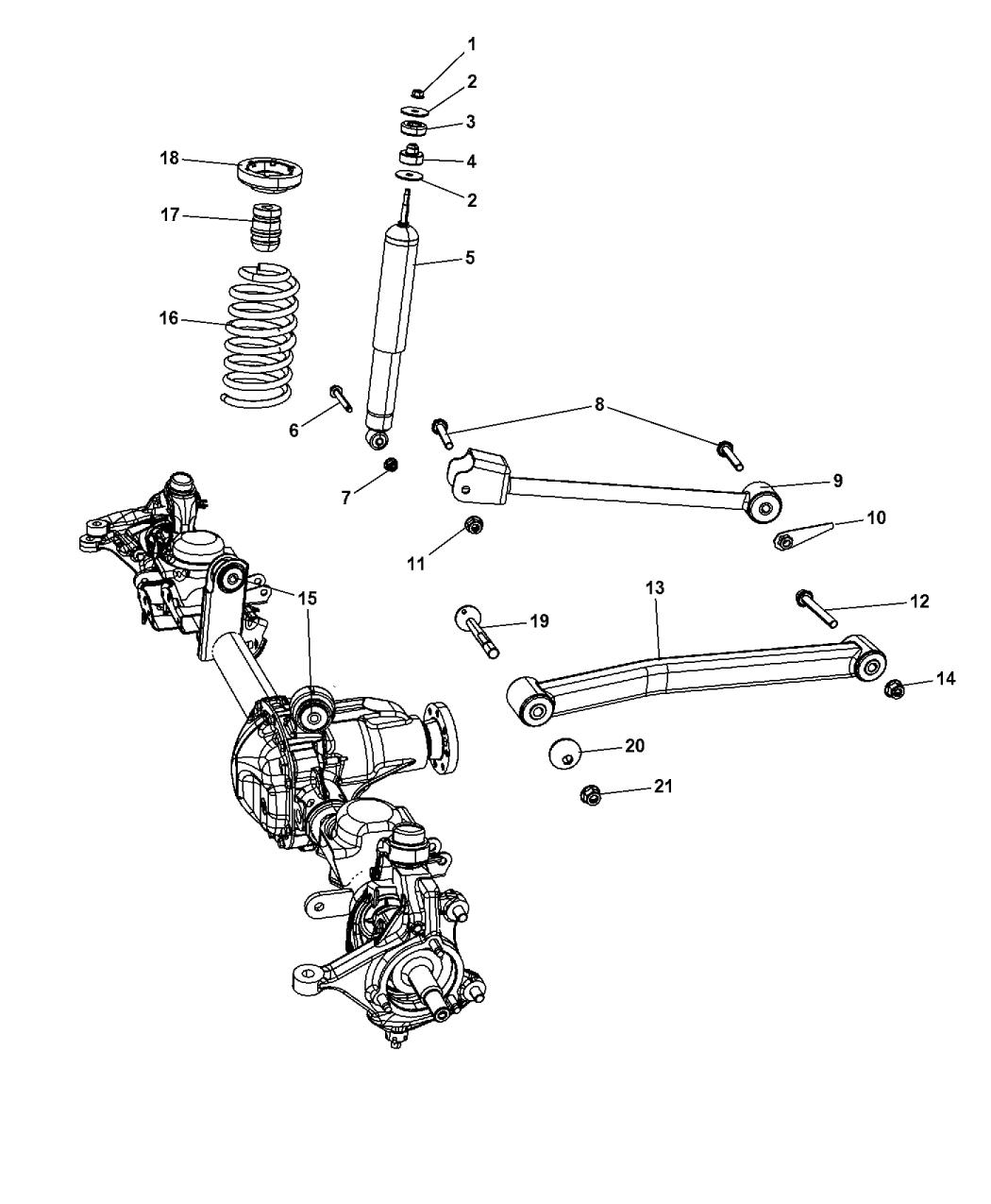 68047812ad Genuine Mopar Absbr Kit Suspension