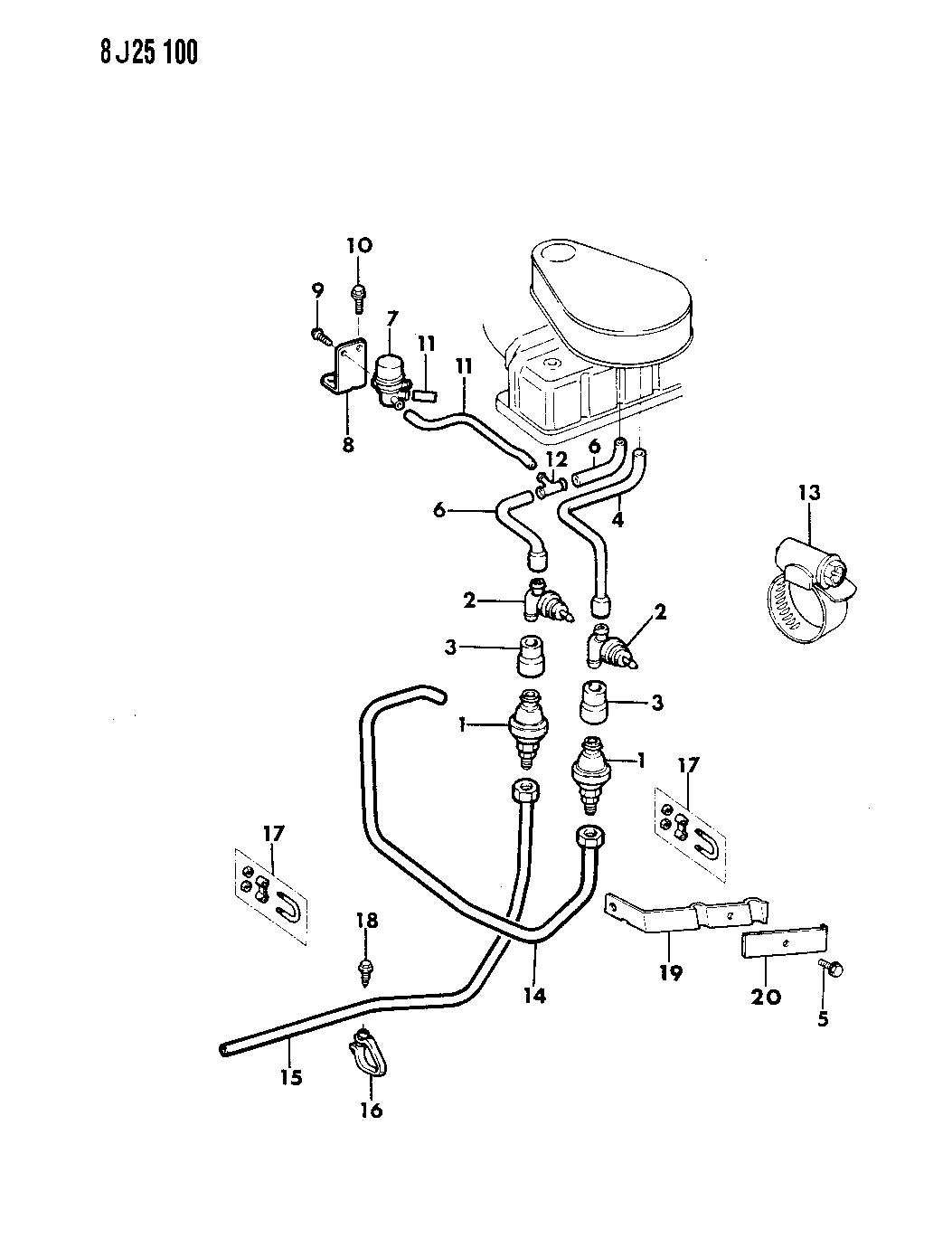1988 jeep wrangler pulse air system