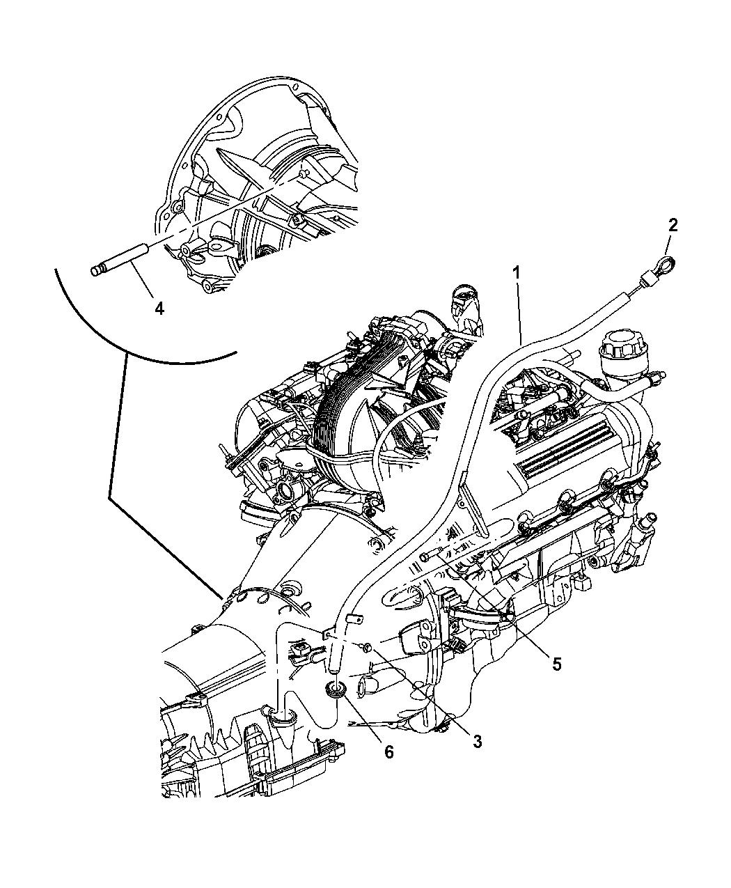 Genuine Mopar INDICATOR-TRANSMISSION FLUID LEVEL