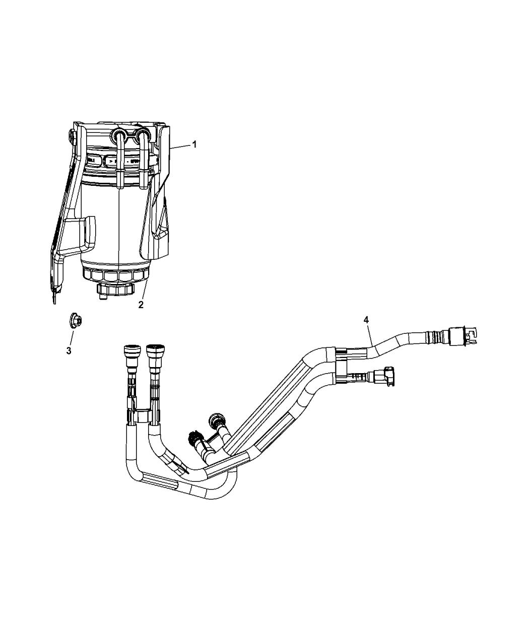 2011 Jeep Patriot Fuel Filter