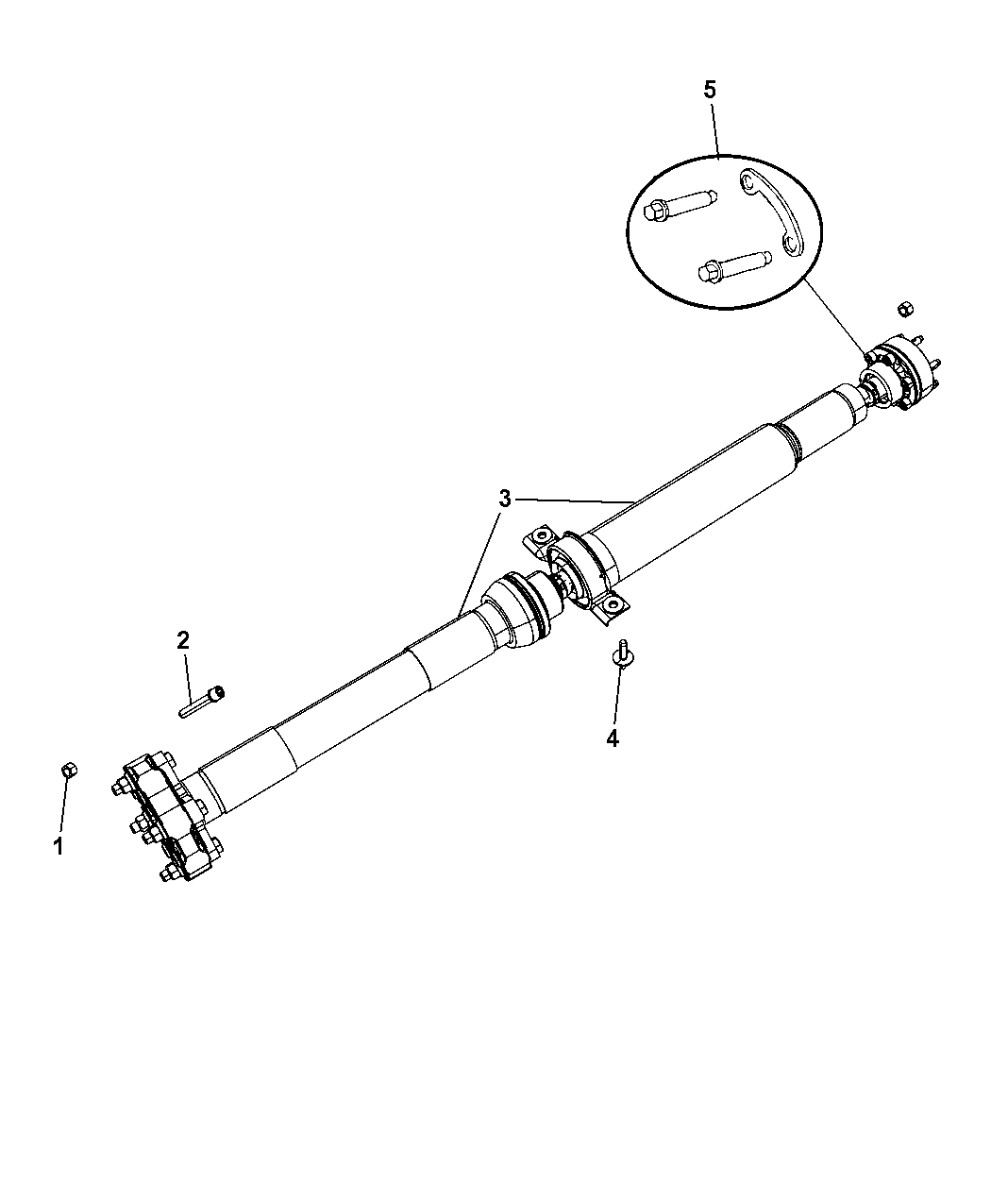 jeep grand cherokee drive shaft diagram