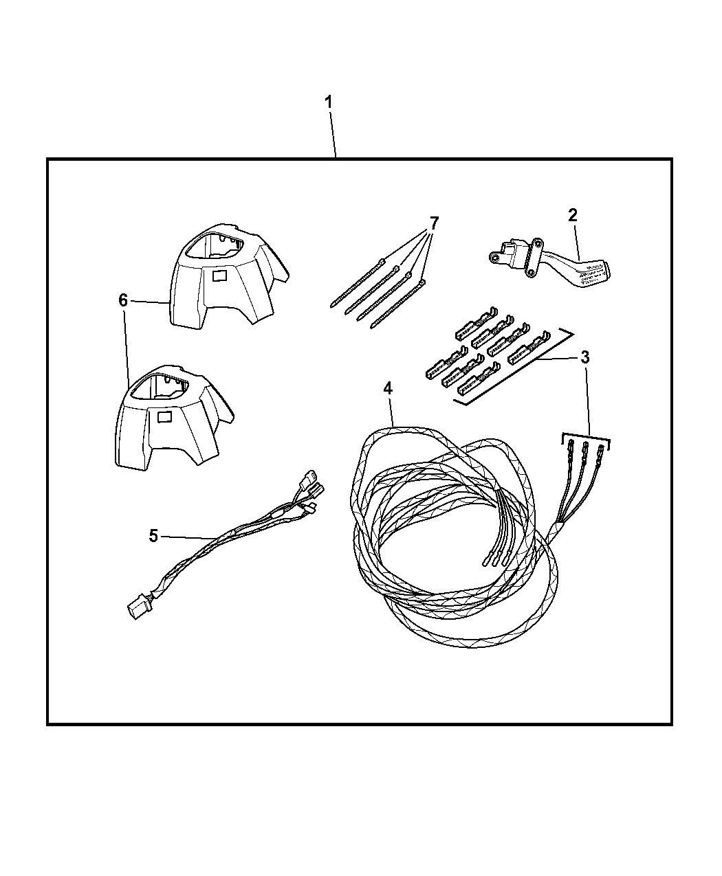 2009 Dodge Caliber Speed Control Of Mopar Accessories Component Parts Wiring Diagram