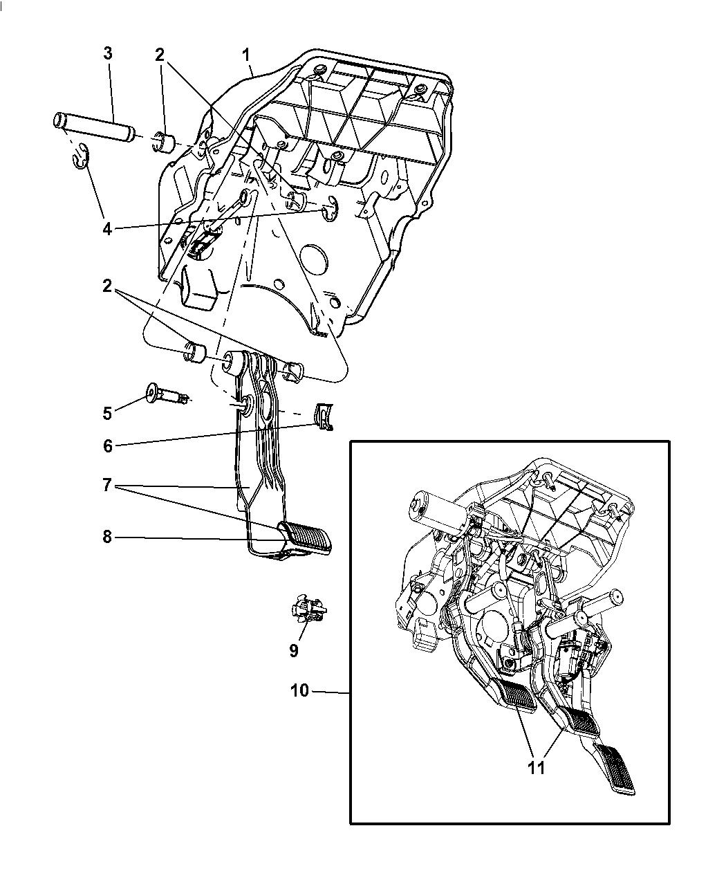 2006 Dodge Clutch Diagram