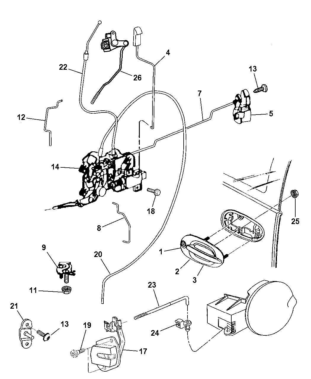 repair manual 2000 chrysler town and country