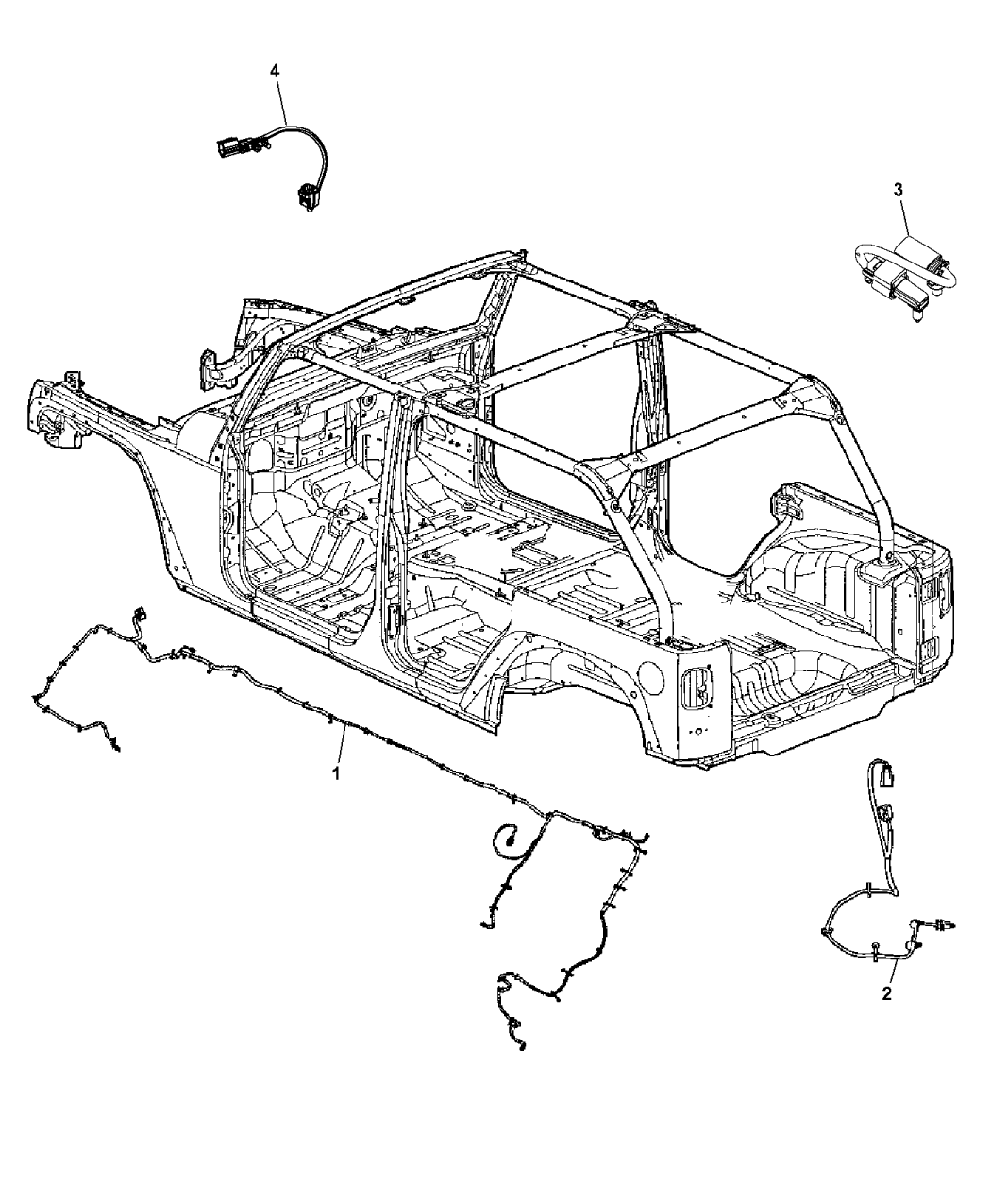 68274526ab Genuine Jeep Wiring Trailer Tow